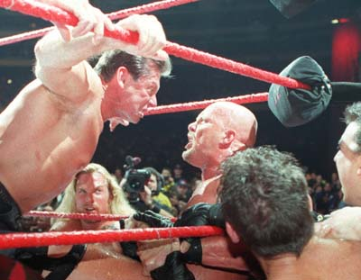 Vince McMahon gives Stone Cold Hell !