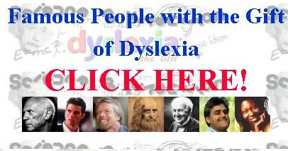Famous People with the Gift of Dyslexia
